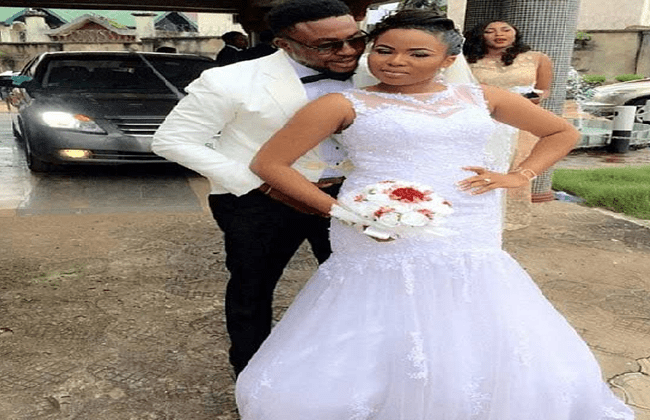 First Photos From Nollywood Actor Nosa Rex Okonzua And Debbie's Wedding In Umuahia