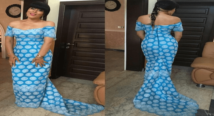 Actress Adunni Ade Stuns In Fishtail Flowing Gown