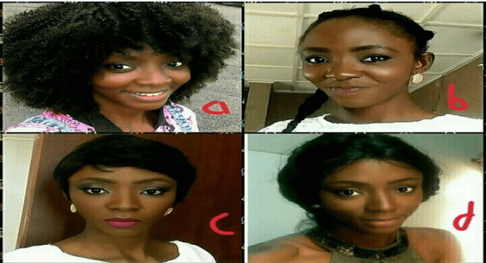 Which Of Actress Ivie Okujaye's look Is Your Favourite?
