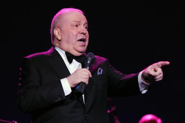 HOLLYWOOD, FL - MARCH 03: Frank Sinatra, Jr. performs at Hard Rock Live! in the Seminole Hard Rock Hotel & Casino on March 3, 2011 in Hollywood, Florida. (Photo by Larry Marano/Getty Images)