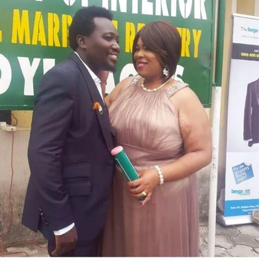 Mr Patrick and wife