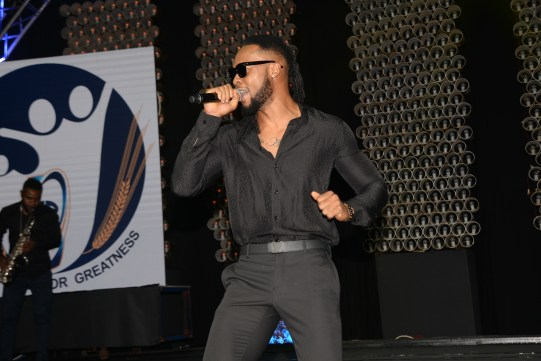 Flavour performing at NBL event