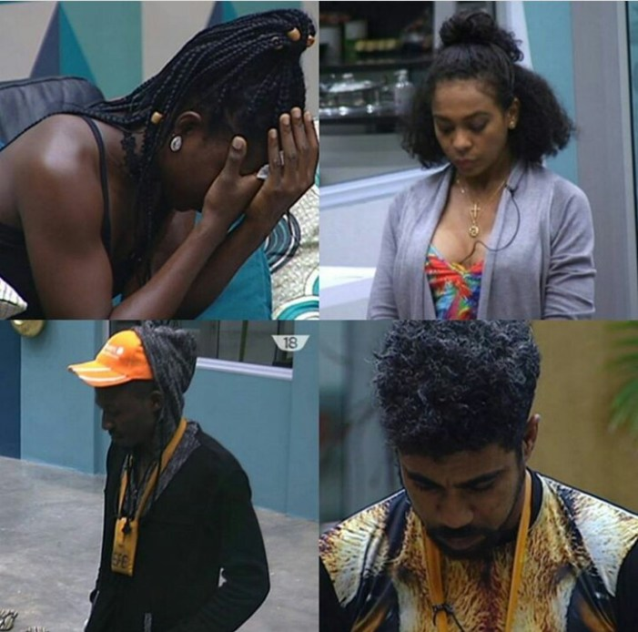 #BBNaija: Efe, Tboss, Debbie Rise And Thin Tall Tony Up For Possible Eviction