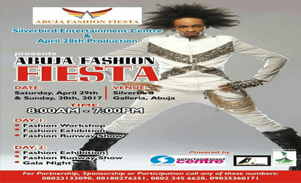 Abuja Fashion Fiesta Set To Hit Federal Capital City