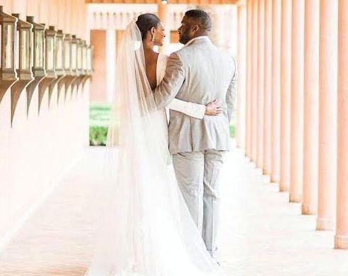Agbani Darego And Ishaya Danjuma's Wedding Had Just 35 Guests