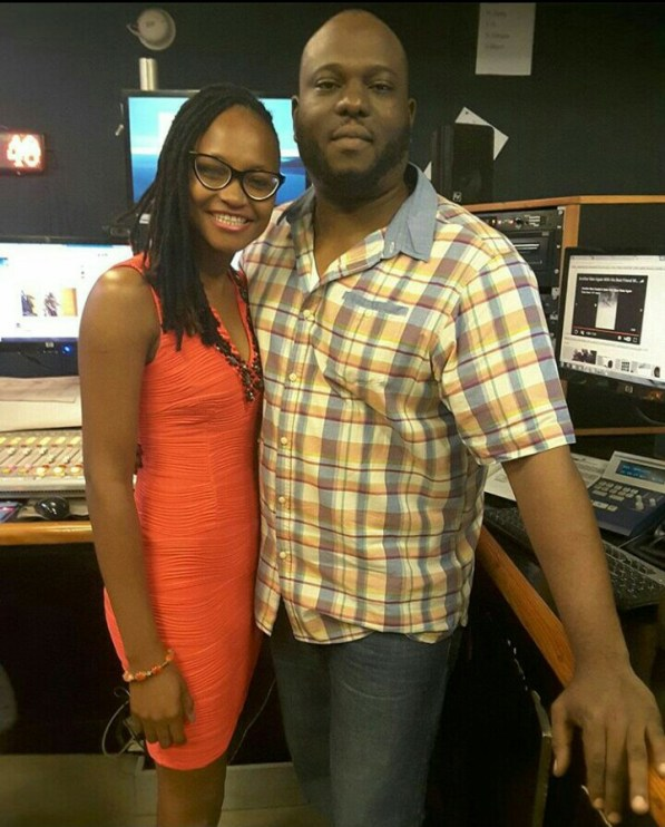 Marvis and Deon Sowobi of Cool FM PH