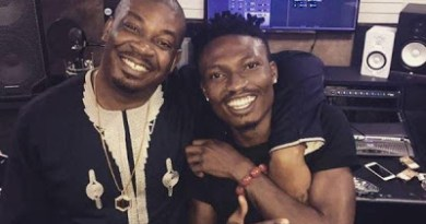 Efe and Don Jazzy