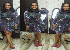 Iyabo Ojo Slays In Chic Outfit