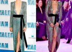 Who Wore It Better? Cara Delevingne And Bella Hadid In Alexandre Vauthier Gown