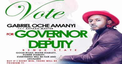 Benue State Governorship