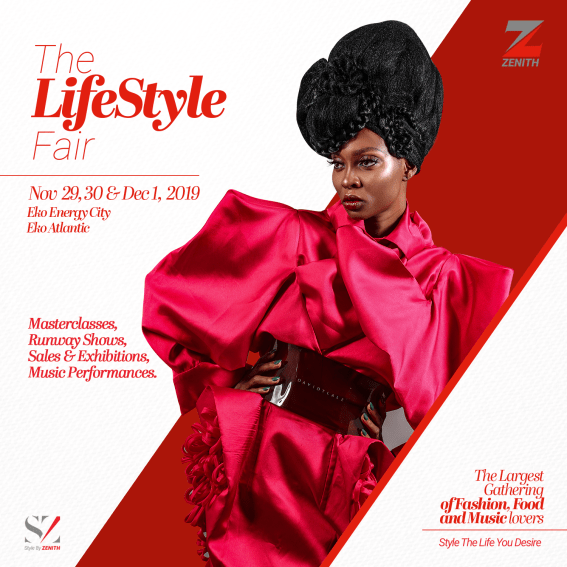 """Top global designers and brands will storm Lagos for the """"Style by Zenith 2.0"""" Fair"""