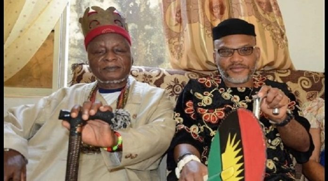 Nnamdi Kanu Father