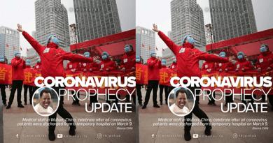 Coronavirus Prophecy Update