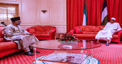 Buhari Receives Briefing