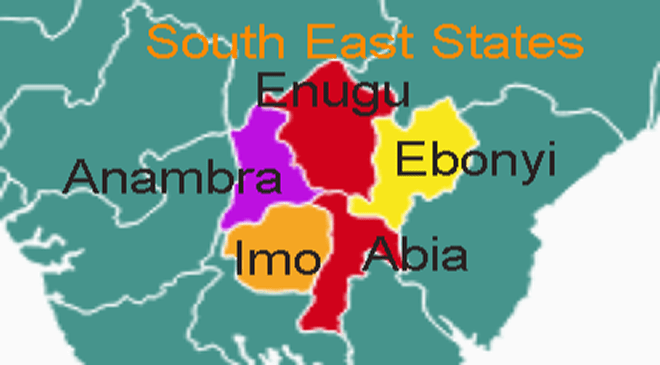 South-East