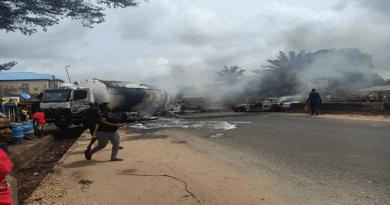 Tanker Explosion Kills One