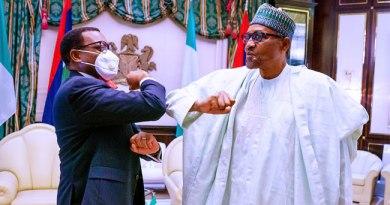 President Buhari Tells