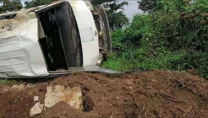 Daar Communications Crew Traveling To Cover Edo Election Involved In Accident, Reporter, Others In Critical Condition