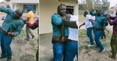 Man Receives Beating
