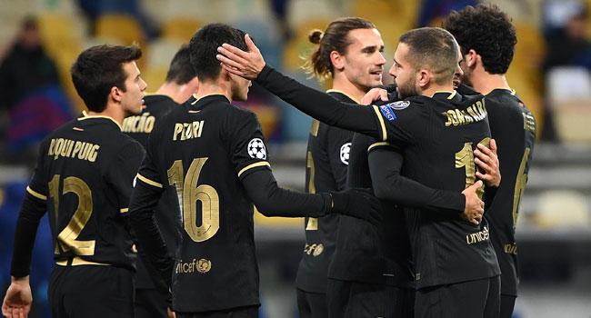 Champions League last 16 w