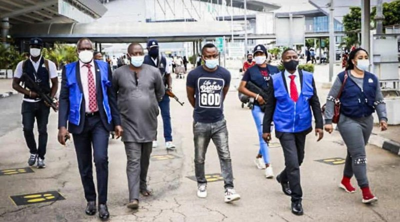 INTERPOL Arrest Three Nigerians