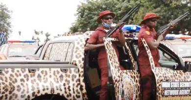 Amotekun Operative Shoots Policeman