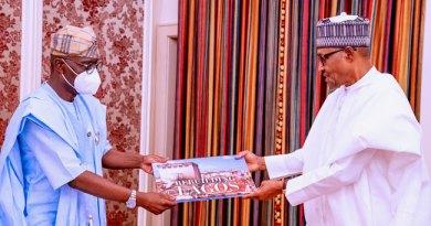 Governor Sanwo-Olu Visits Buhari