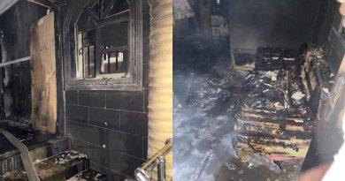 Igboho's House Fire
