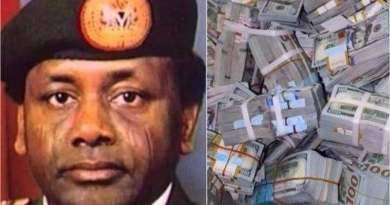 Request To Unfreeze Abacha's Accounts
