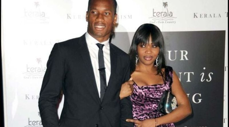 Didier Drogba's Marriage