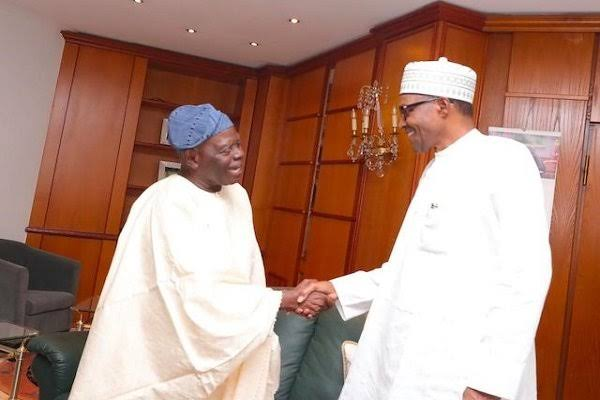 President Buhari Showers Praises On Bisi Akande At 82