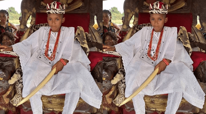 Akubuisi Okonkwo Crowned Youngest King