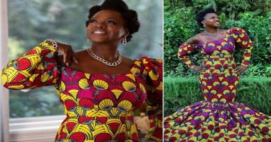 Photos: Viola Davis Rocks African Print Gown At 2021 Golden Globes