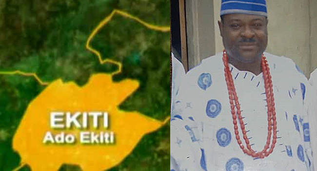 Kidnapped Ekiti Monarch