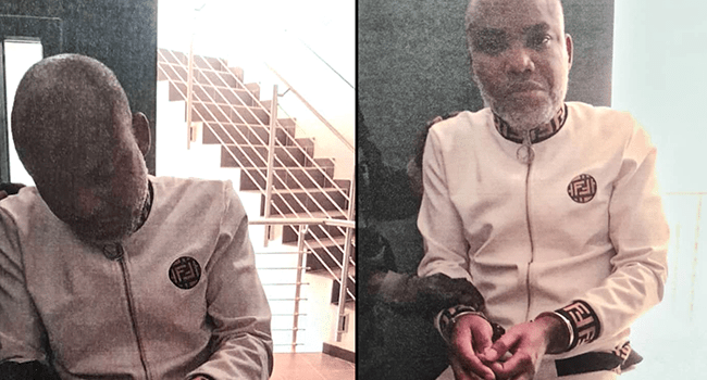 BREAKING: Nnamdi Kanu's Trial Adjourned Till Oct 21 As IPOB Leader Absent From Court