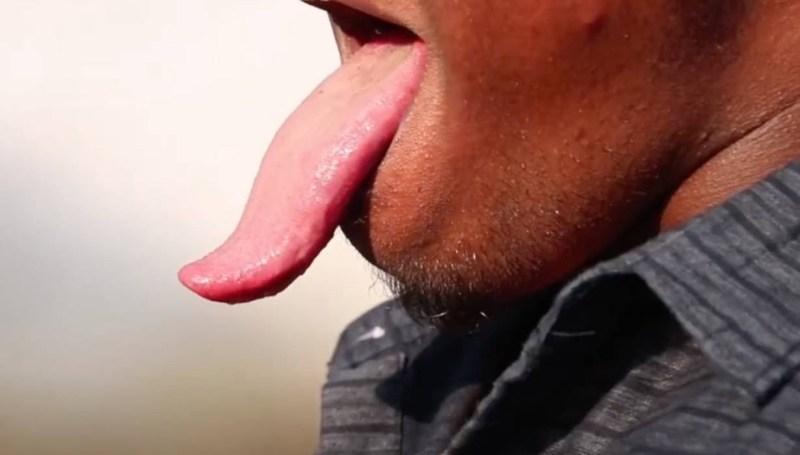 World's Longest Tongue