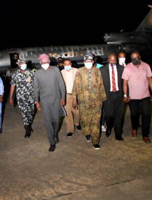 Bola Tinubu Arrives Nigeria
