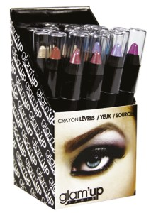 display crayons jumbo lèvres Glam'Up