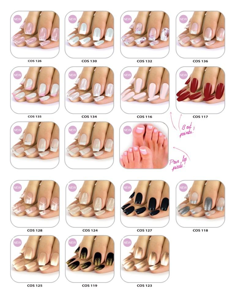 nouveaux faux ongles
