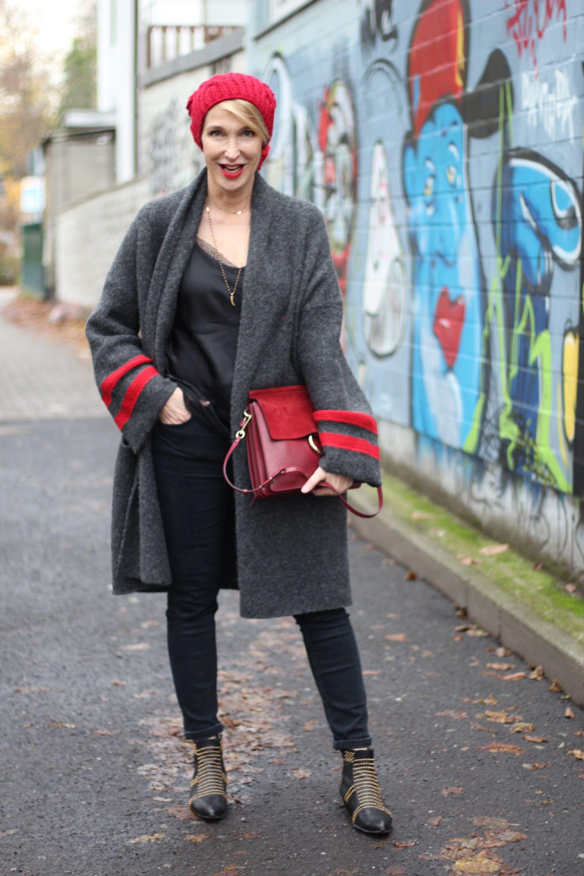 glamupyourlifestyle langer-cardigan anine-bing-boots chloe-faye-tasche lingerie-trend ü40-blog ue40-mode