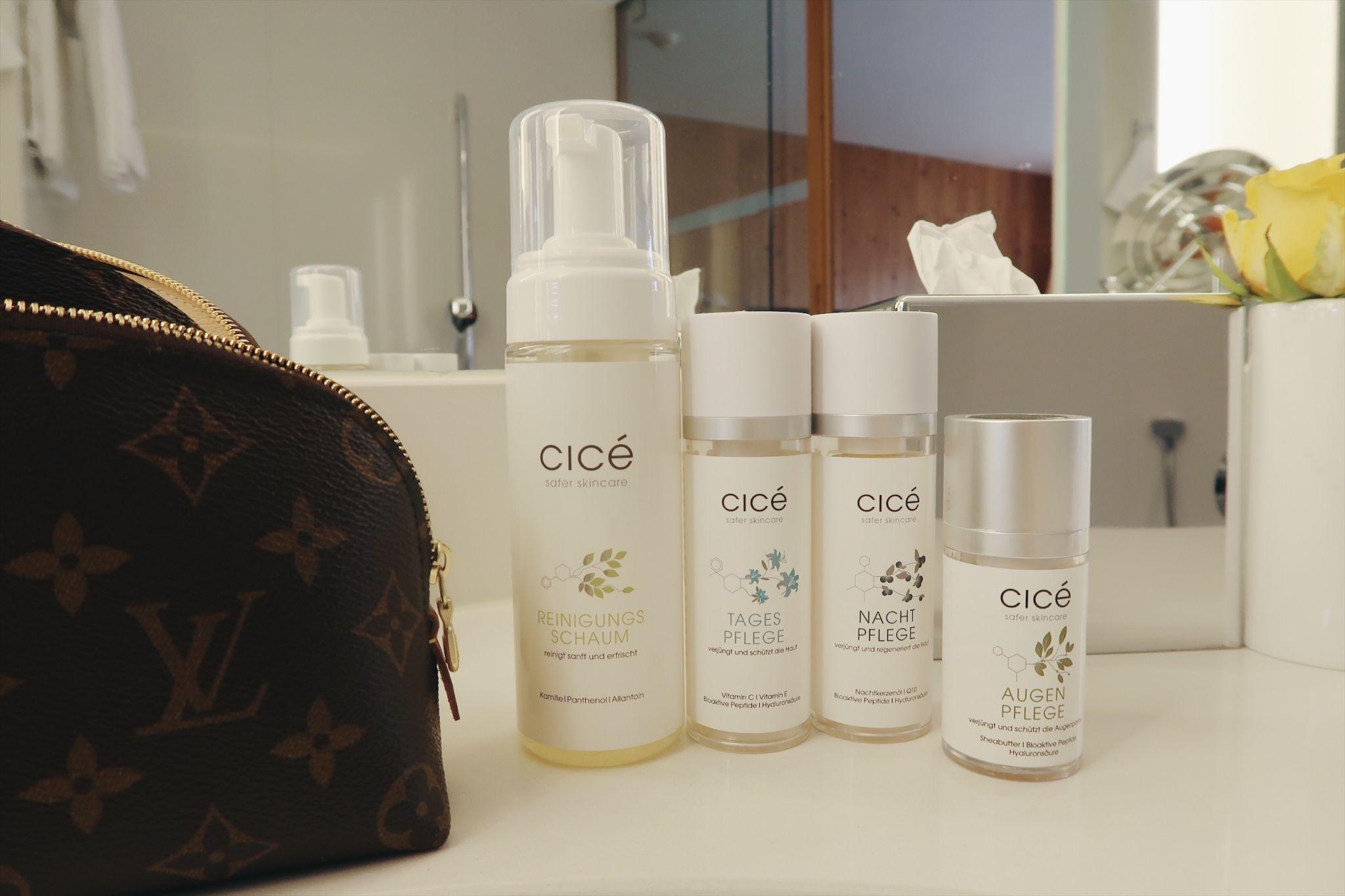 glamupyourlifestyle cicé Erfahrung Pflegecreme anti-aging Gesichtspflege nachtcreme Reinigungsschaum periorale-dermatitis ü40-Blog