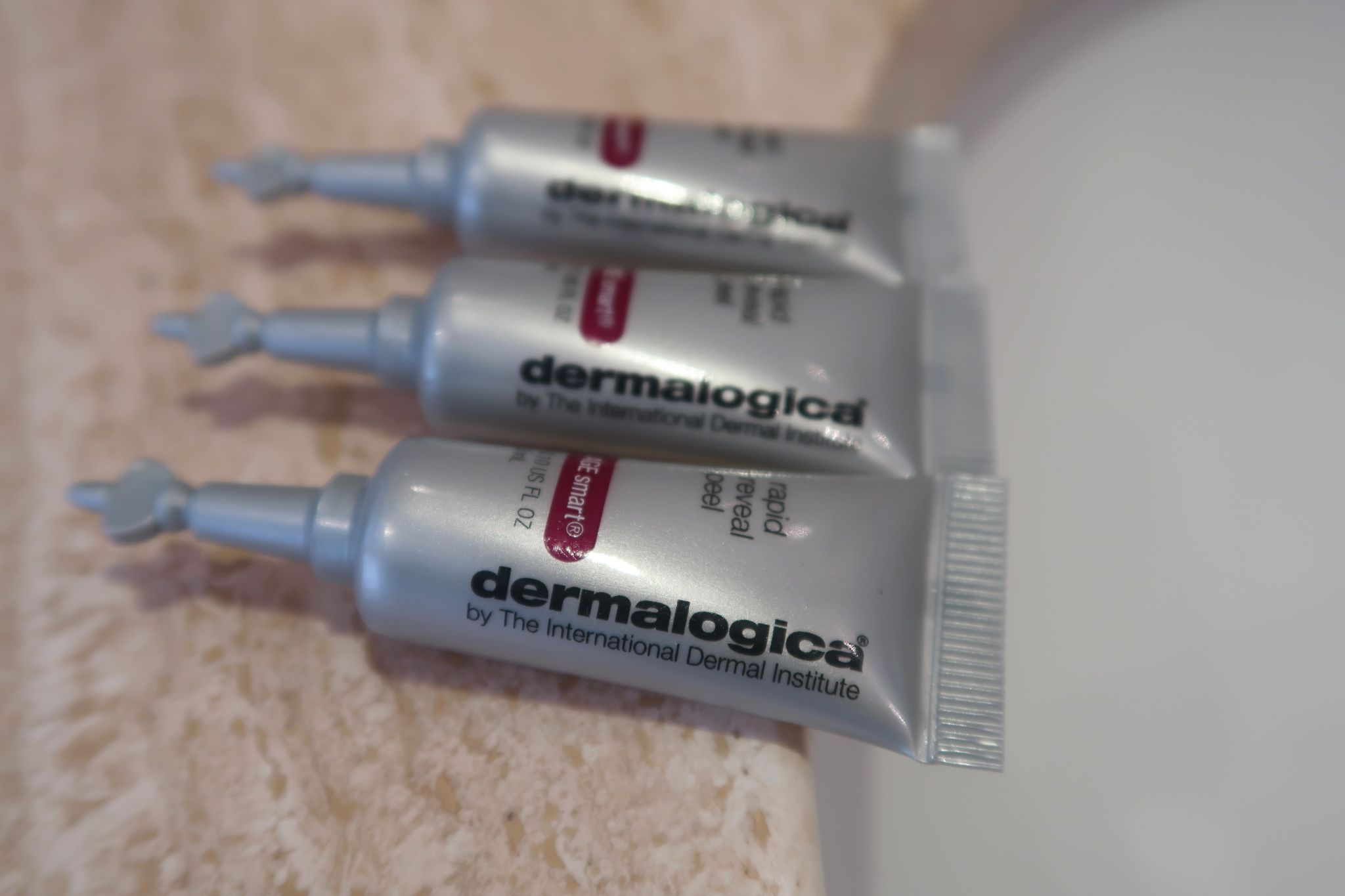 glamupyourlifestyle peeling dermalogica -peeling rapid-reveal-peel-erfahrung anti-aging-peeling ue-40-blog ü-50-blog