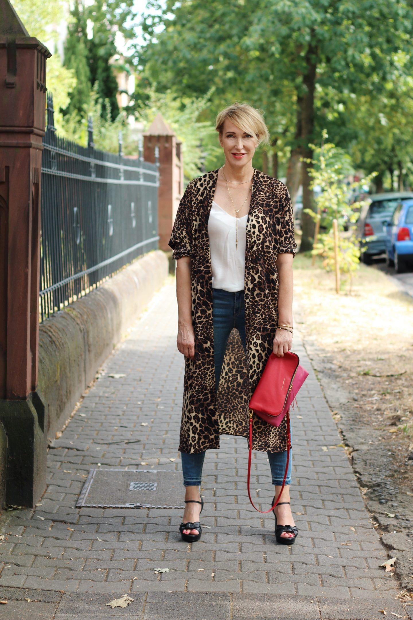 glamupyourlifestyle leo-print leopard-muster animal-print kimono ue-40-blog ü-40-blog