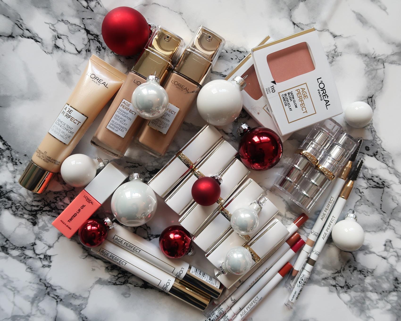 glamupyourlifestyle weihnachten gewinnspiel loreal-age-perfect Adventsverlosung
