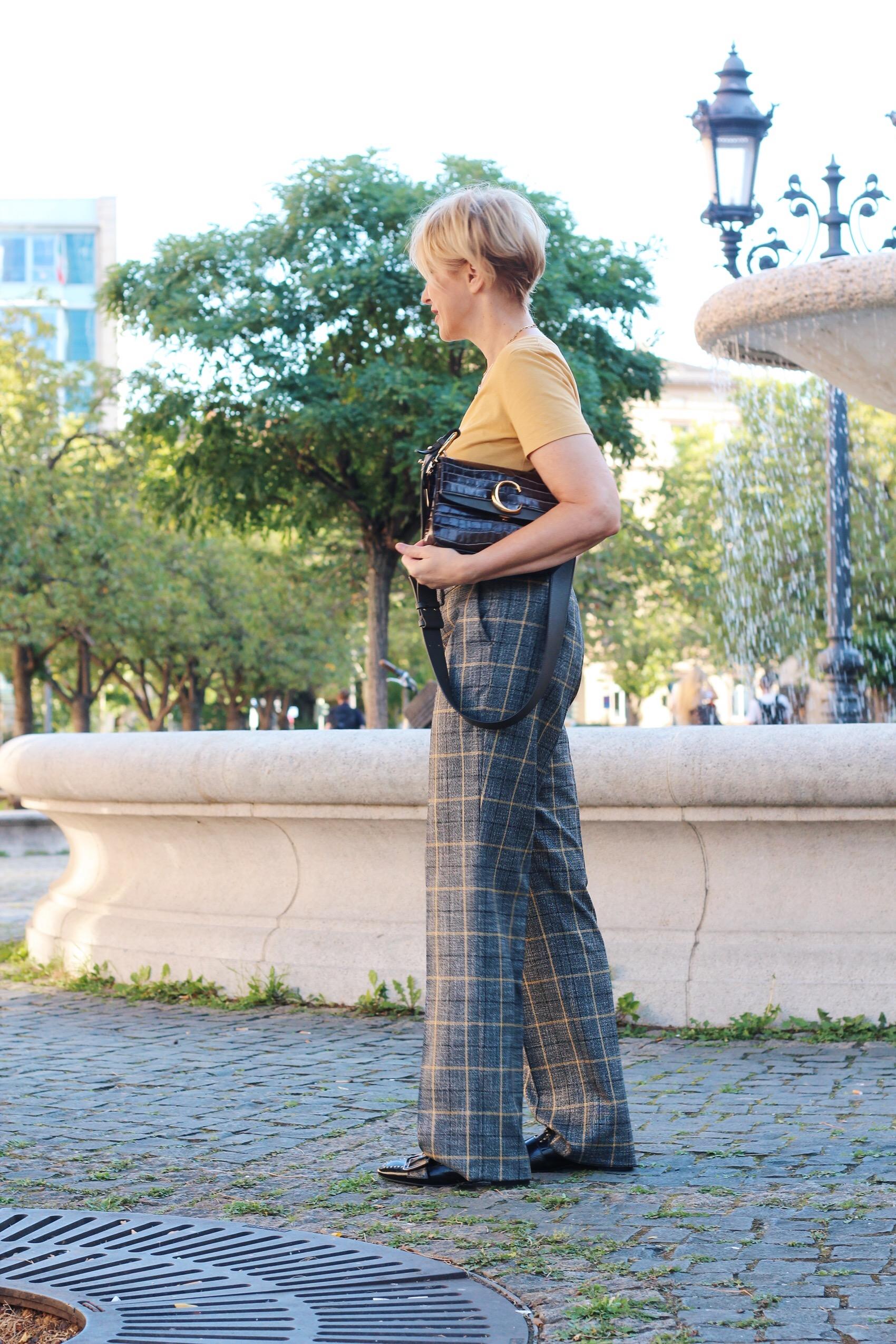 glamupyourlifestyle toni-fashion perfect-piece karierte-Hose ü-40-blog ü-50-Blog ue-40-blog ue-50-mode
