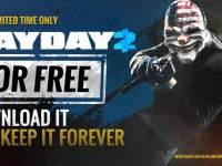 Payday 2 este gratuit pe steam – PERMANENT