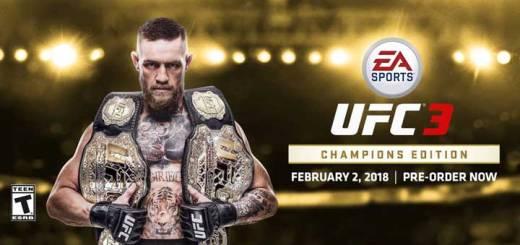 UFC 3, Februarie 2018, Jocuri