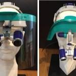 GL003 Visiera protettiva con schermo rigido extra lungo per caschetti prismatici