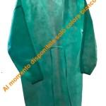 GLCAM NDTEC Camice protettivo monouso in TNT SMS idro-repellente dispositivo medico di classe I - colore bianco