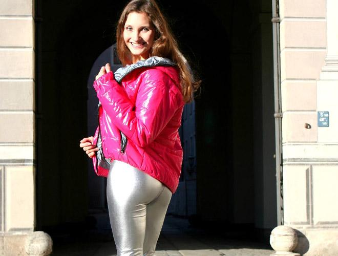 ricci tauscher - daunenjacke und leggings
